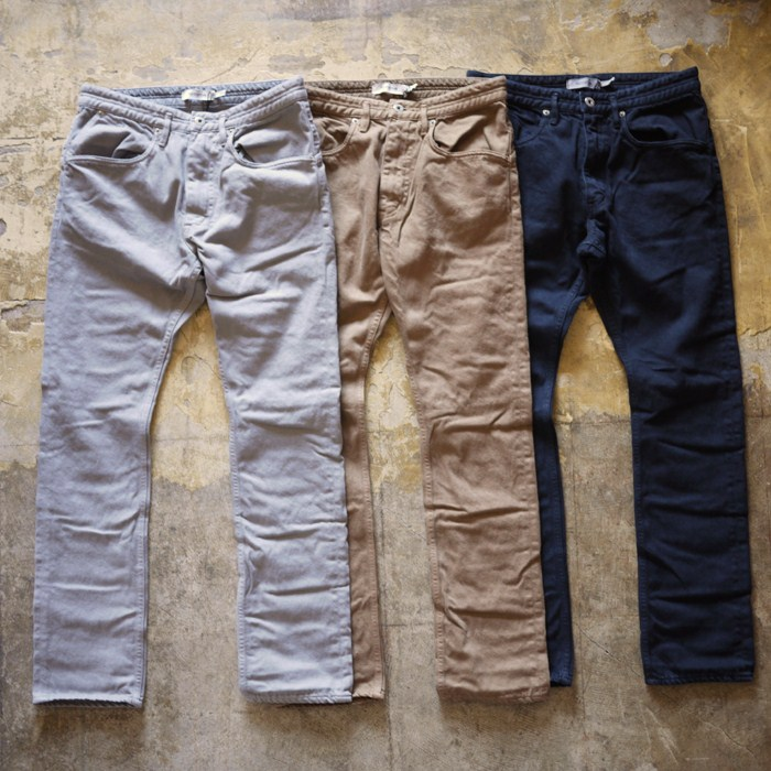 nonnative / Dweller 5P Jeans – Cotton Katuragi Over Dyed
