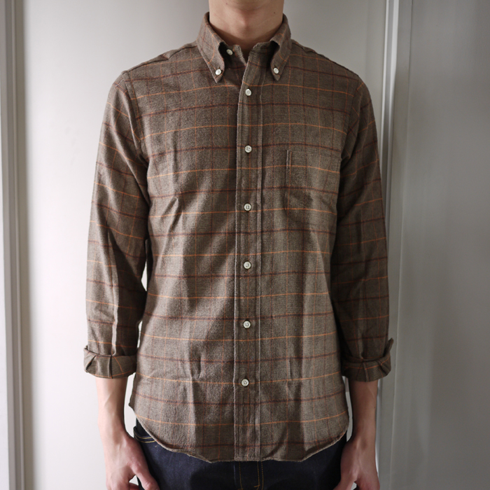 INDIVIDUALIZED SHIRTS / 1889 Flannel Check Shirts