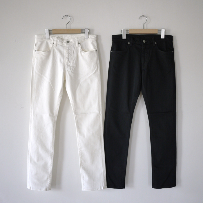 UNUSED / 10oz Denim Four Pockets Stretch Slim Pants