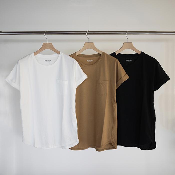 nonnative / Dweller Tee DS Cotton Jersey