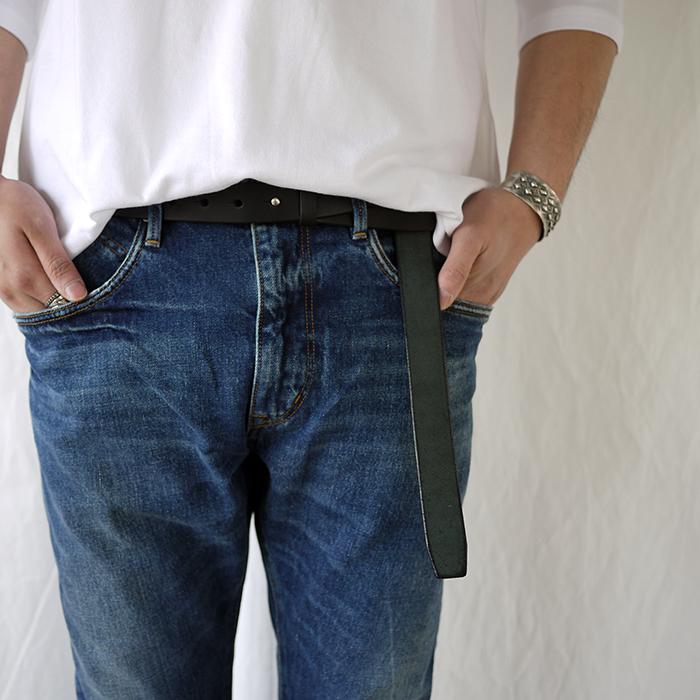 UNUSED / Cow Leather Belt