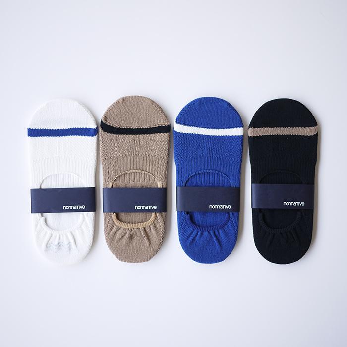nonnative / Dweller Socks Instep C/P Mix Woven