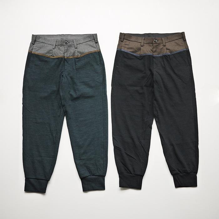 kolor / -/60 Nylon Covering Rib Pants