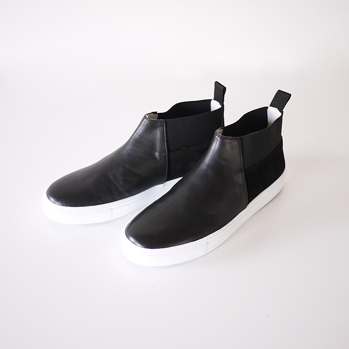 Amb / Side Gore Leather Slip On