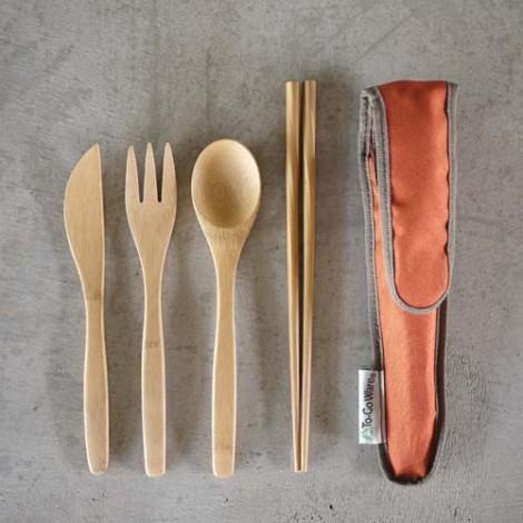 togoware-bambooutensilset