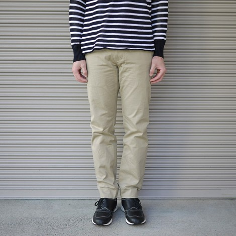 yaeca-19607narrowchinoclothpants