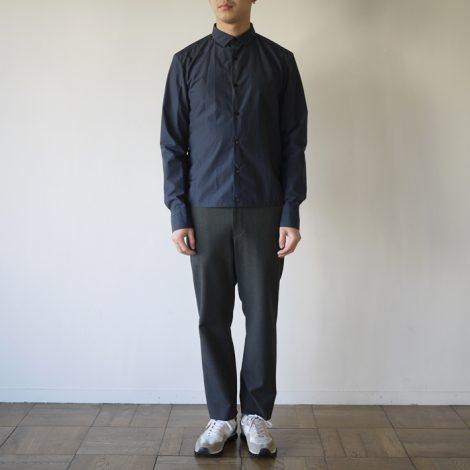 kolor-cottonnyloncoatinglawnlsshirts