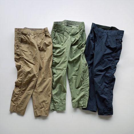 kolor-matteclothpuckeringcroppedpants