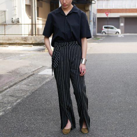 allegefemme-stripebeltedpants
