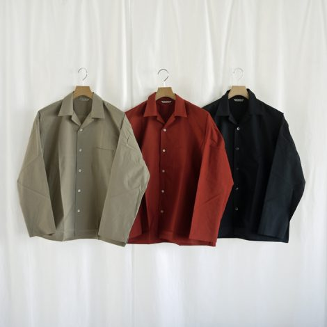 auralee-selvedgeweatherclothshirts