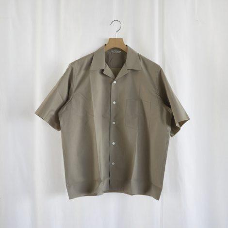 auralee-selvedgeweatherclothhalfsleevedshirts