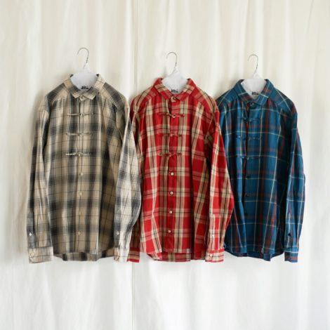 kolorbeacon-cottontwillcheckshirts