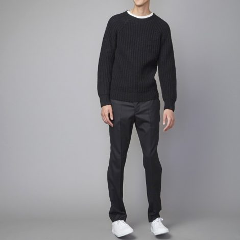 officinegenerale-ribstitchcrewneckscottishwool