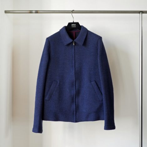 harriswharflondon-aviatorjacketheavyherringbone