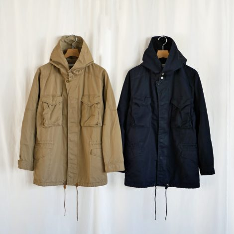 nonnative-hunterhoodedcoatcltwill