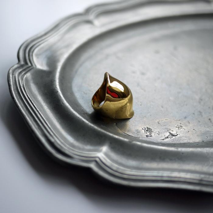 fumikauchida-silver925goldplatingconnectring