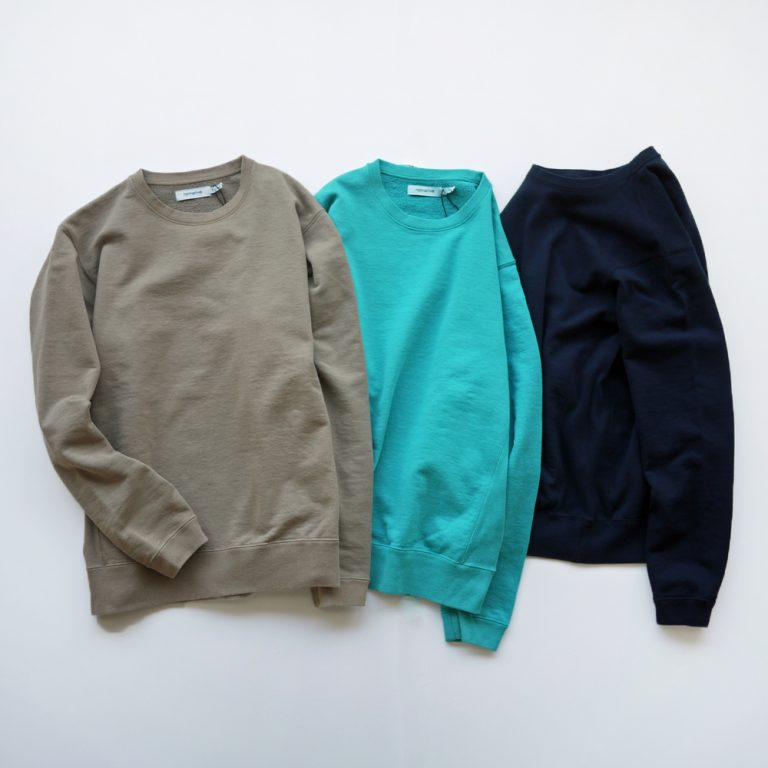 nonnative-coachcrewpocottonsweatoverdyed