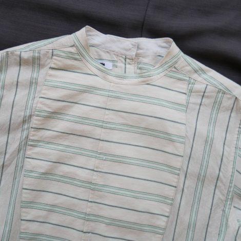 fumikauchida-stripecottonbackopenlongshirt