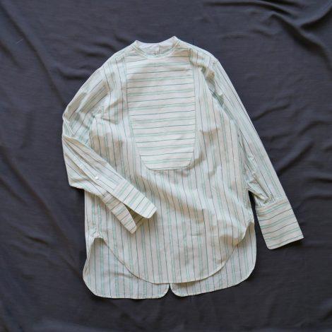 fumikauchida-stripecottonbackopenshirt