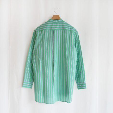 cristaseya-greenstripedjapanesecottonsummershirt
