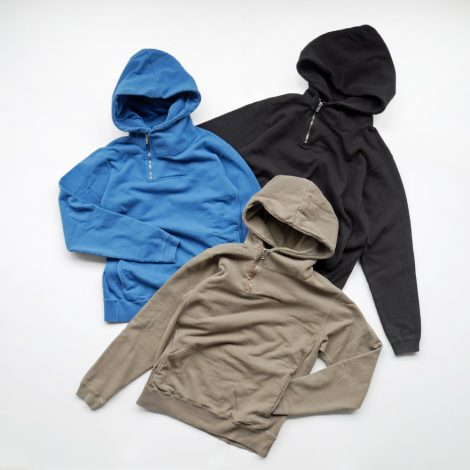 nonnative-dwellerhalfziphoodycottonsweatoverdyed
