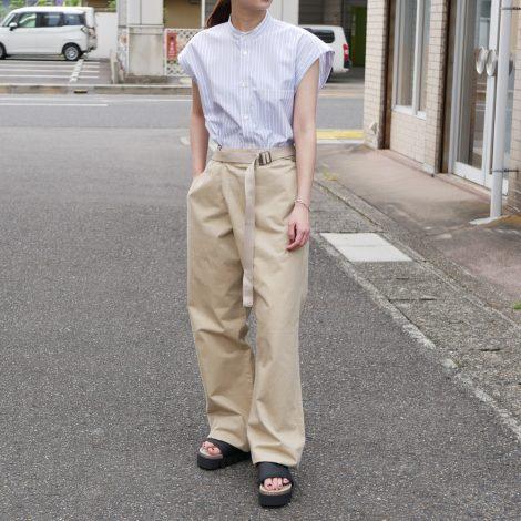 auraleewomens-washedfinxtwillstripesleevelessshirt