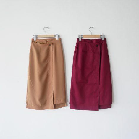 rokh-bicolourmidiskirt