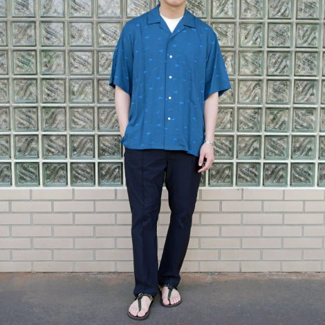 wellder-shortsleeveopencollarshirt