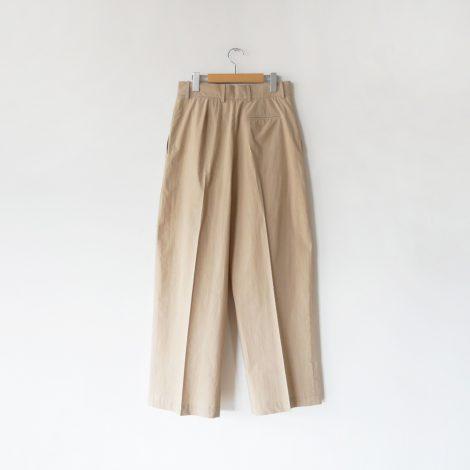 cristaseya-japanesedrycottondoublepleatedtrousers