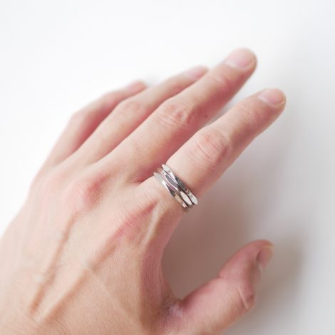 end-silver3pieceslenderring
